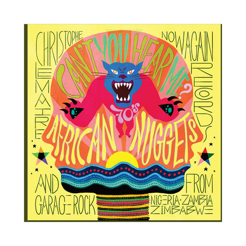 Christophe Lemaire Presents - 'Can't You Hear Me?: African Nuggets & Garage Rock From Nigeria, Zambia & Zimbabwe' [CD]