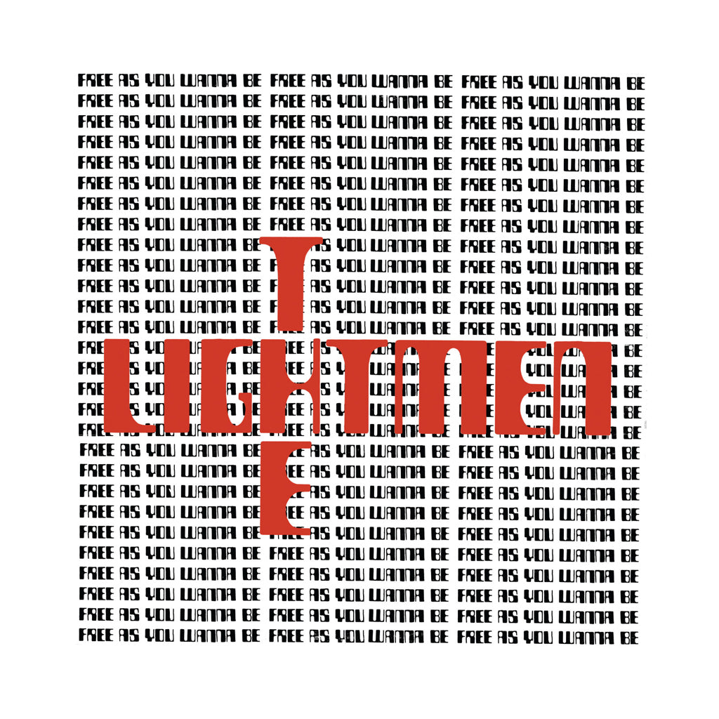 The Lightmen Plus One - 'Free As You Wanna Be' [(Black) Vinyl LP]