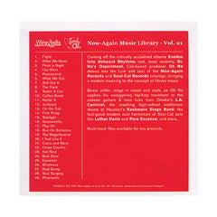 <!--120091006017981-->Oh No - 'Oh No Vs. Now-Again Music Library Vol. 1' [CD]