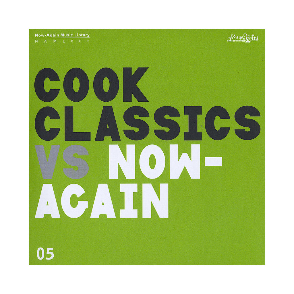 Cook Classics - 'Cook Classics Vs. Now-Again: Now-Again Music Library Vol. 5' [CD]