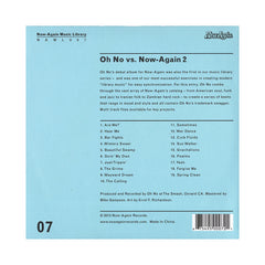 <!--120130827058731-->Oh No - 'Oh No Vs. Now-Again 2: Now-Again Music Library Vol. 7' [CD]