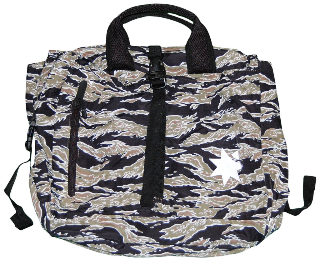 <!--020120710046697-->NVRBRKN. - 'Bout Duffel/ Backpack' [(Camo Pattern) Duffel Bag]