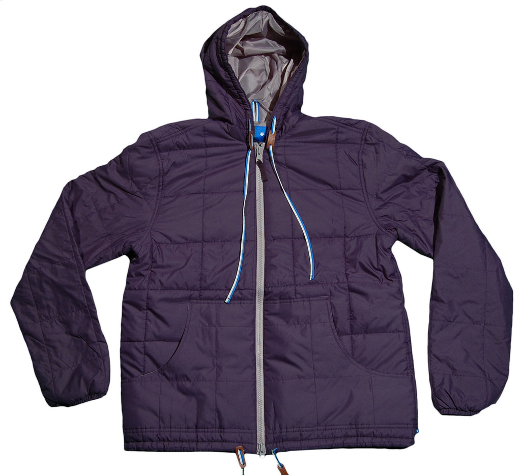 <!--2012071001-->NVRBRKN. - 'Puffer' [(Dark Blue) Jacket]