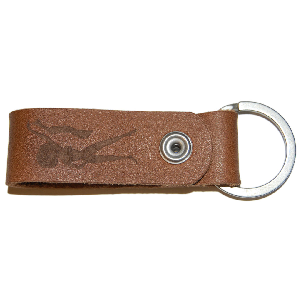 <!--020130108053335-->NVRBRKN. - 'Clinger' [(Brown) Keychain]