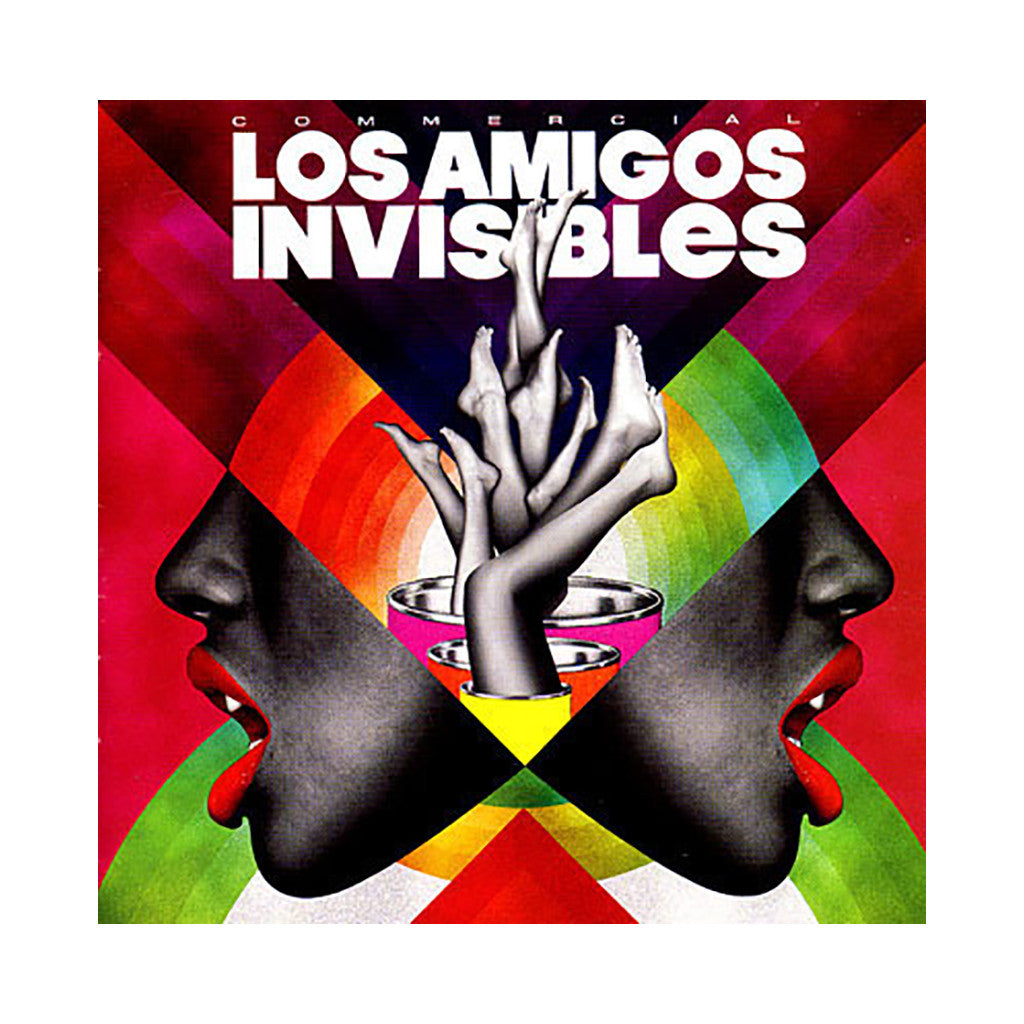 Los Amigos Invisibles - 'Commercial' [CD]