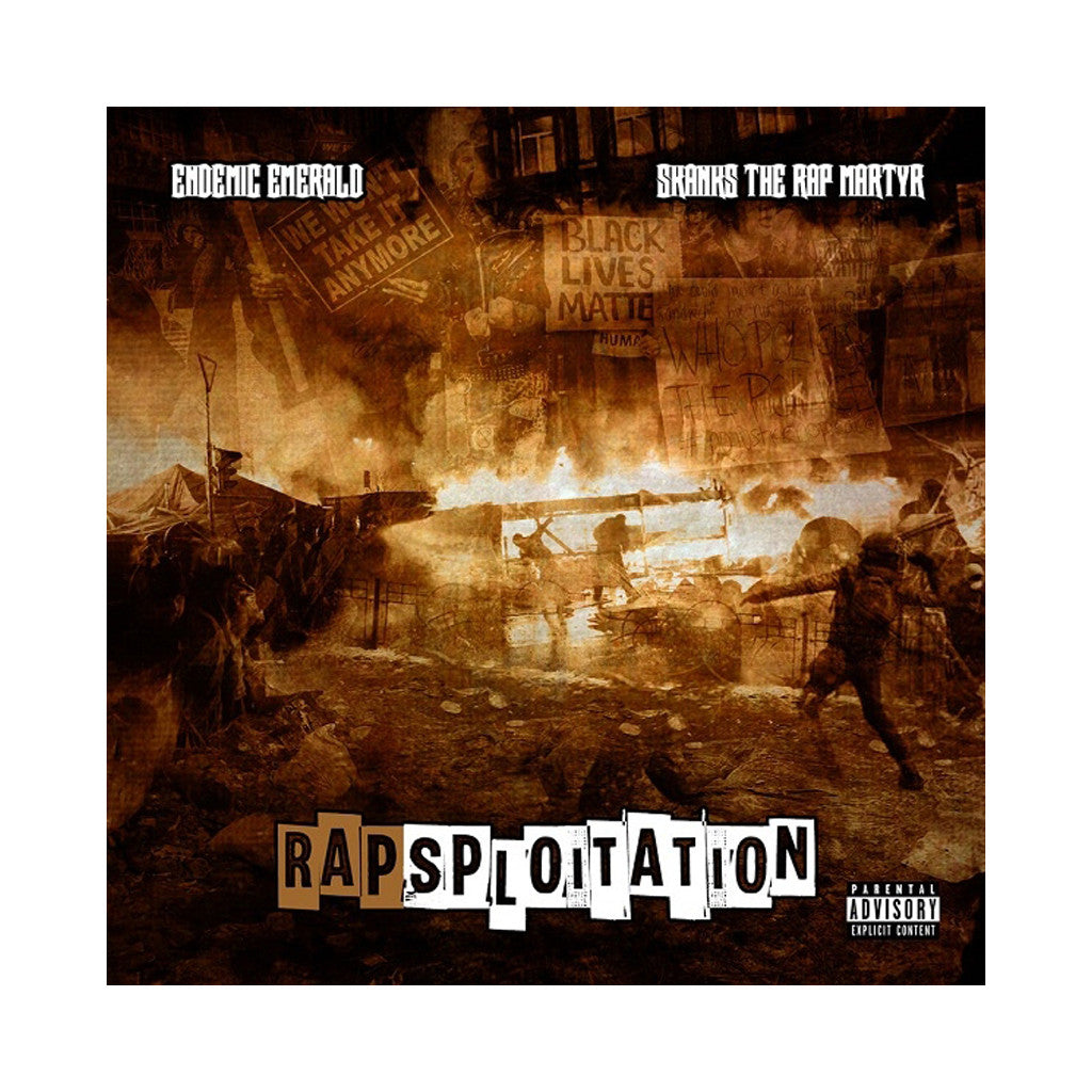 Endemic Emerald & Skanks the Rap Martyr - 'Rapsploitation' [CD]