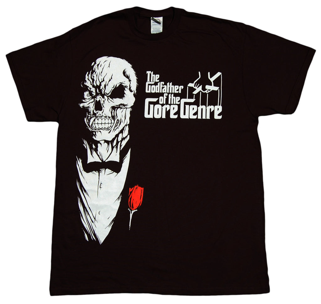 <!--2012082842-->Necro - 'Godfather Of Gore' [(Black) T-Shirt]