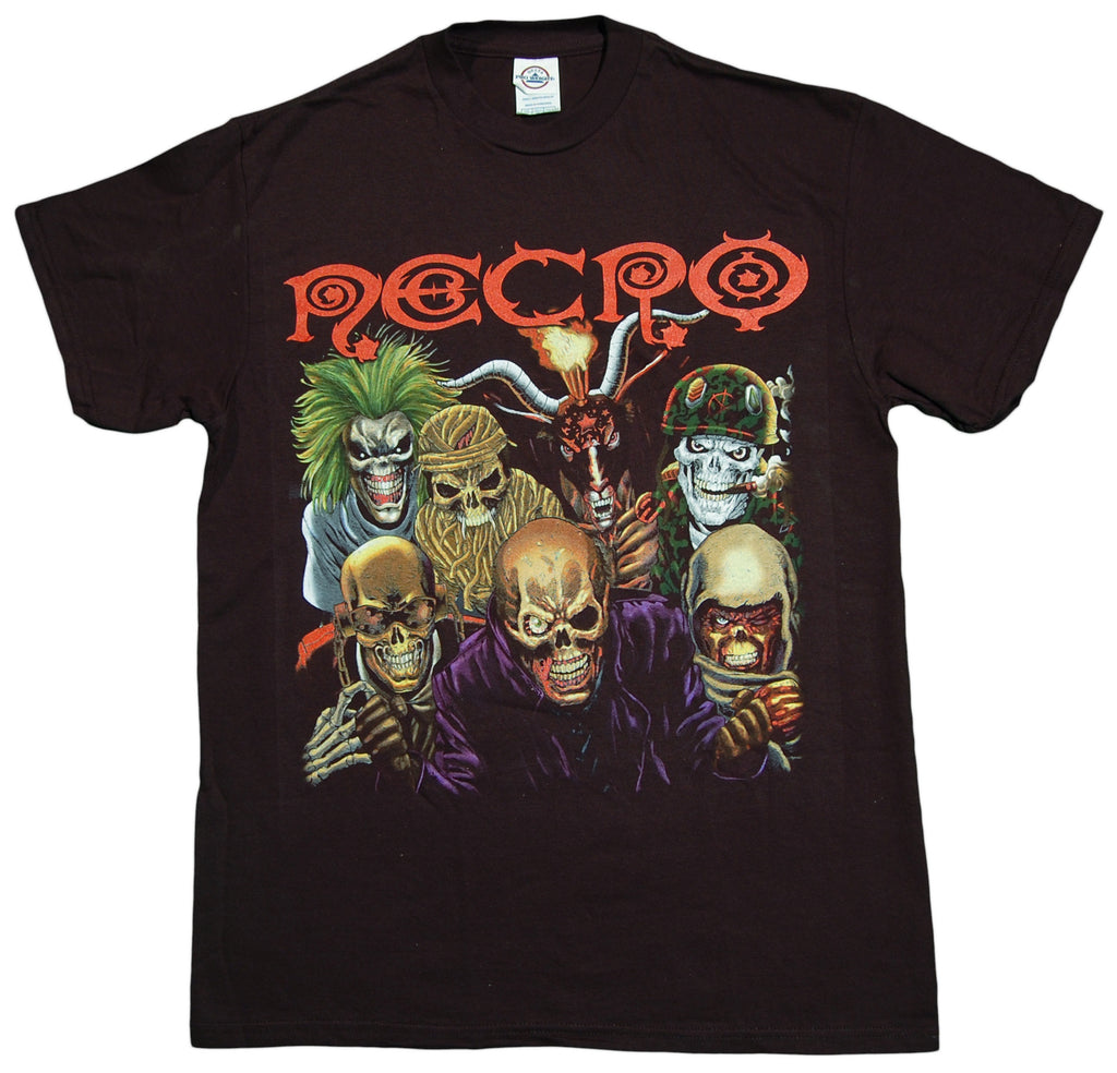 <!--2012082128-->Necro - 'Metal Hip Hop' [(Black) T-Shirt]