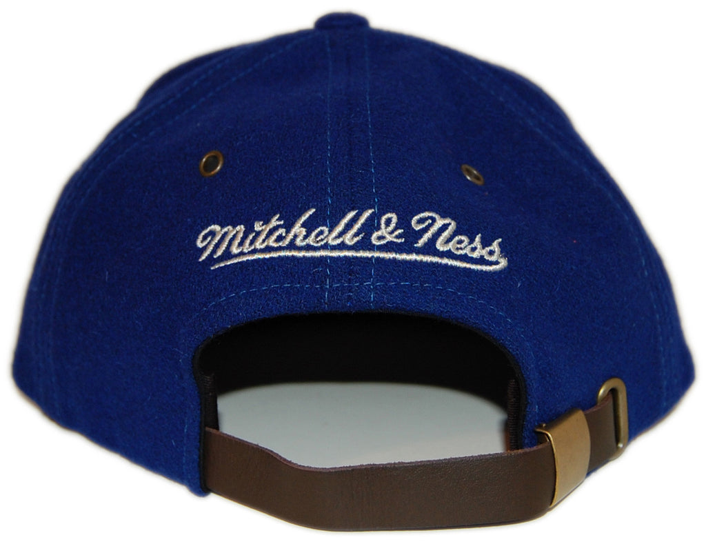 <!--020121120051391-->Mitchell & Ness x NHL - 'Hartford Whalers - NHL Vintage Winter Suede' [(Blue) Strap Back Hat]