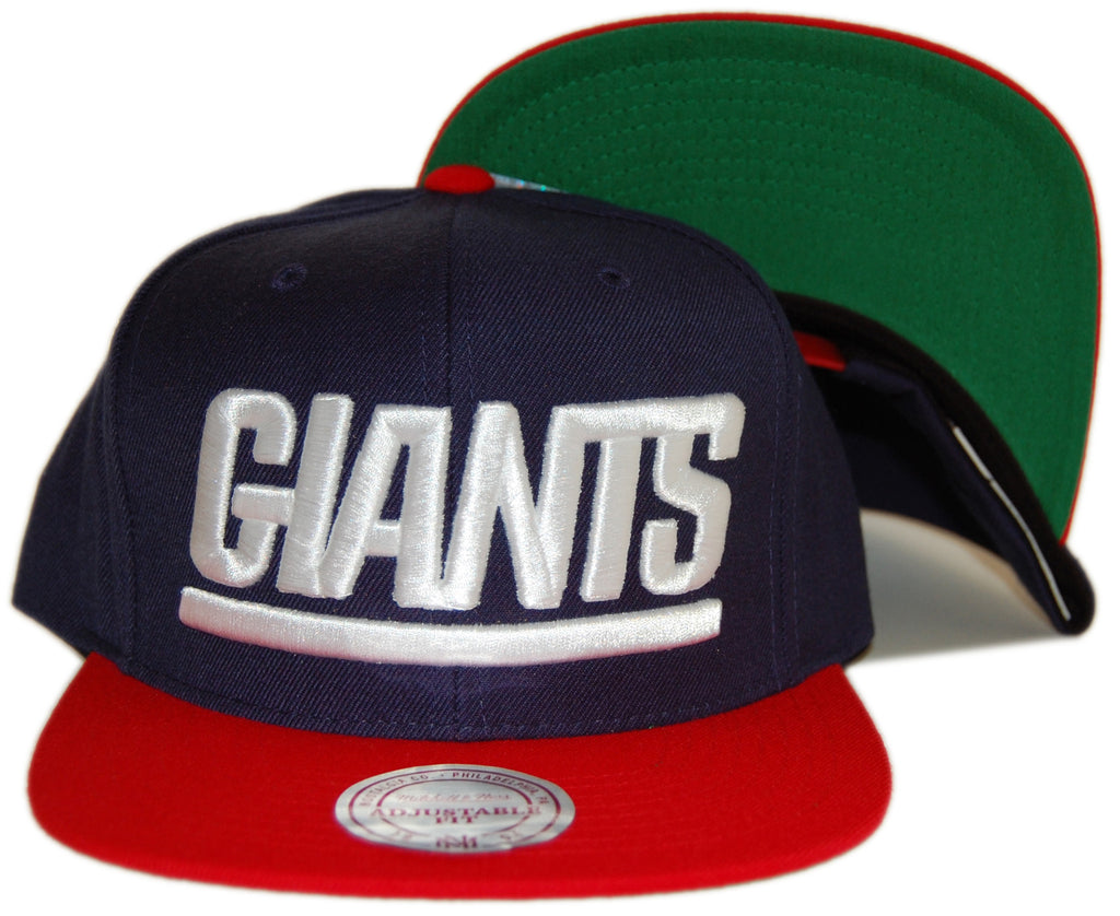 6f9d38f6d ... Giants XL Logo 2Tone Blue Snapback Hat . unique design 039ba 6813a  020120821048161--Mitchell Ness x NFL - New ...