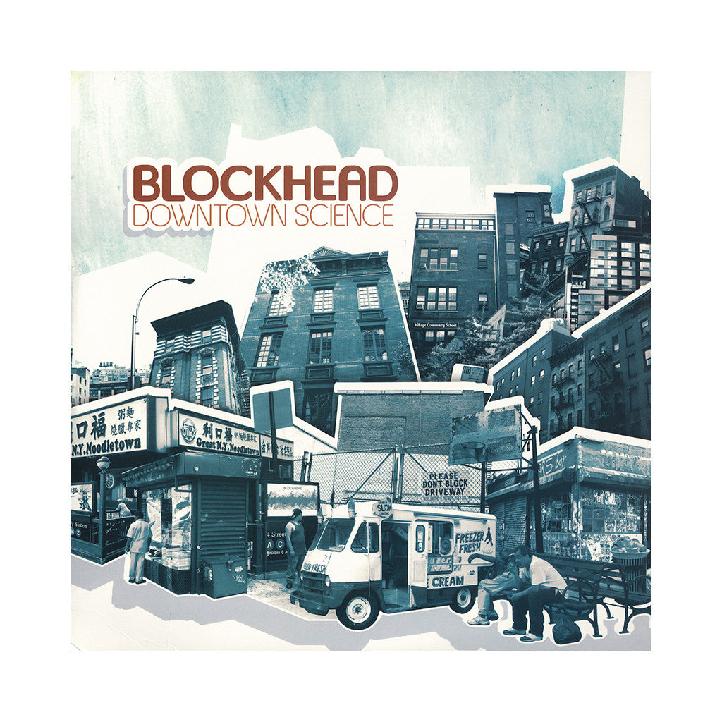 <!--120051018005575-->Blockhead - 'Downtown Science' [CD]