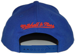 <!--020130305054268-->Mitchell & Ness x NBA - 'New York Knicks - HWC Wool Solid' [(Blue) Snap Back Hat]