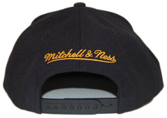 <!--020130305054272-->Mitchell & Ness x NBA - 'Los Angeles Lakers - HWC Wool Solid 2' [(Black) Snap Back Hat]