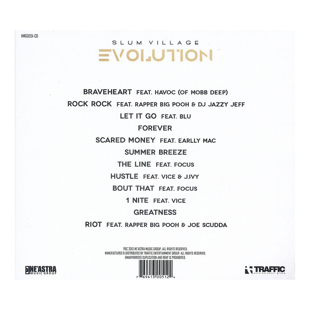 <!--120130709057193-->Slum Village - 'Evolution' [CD]