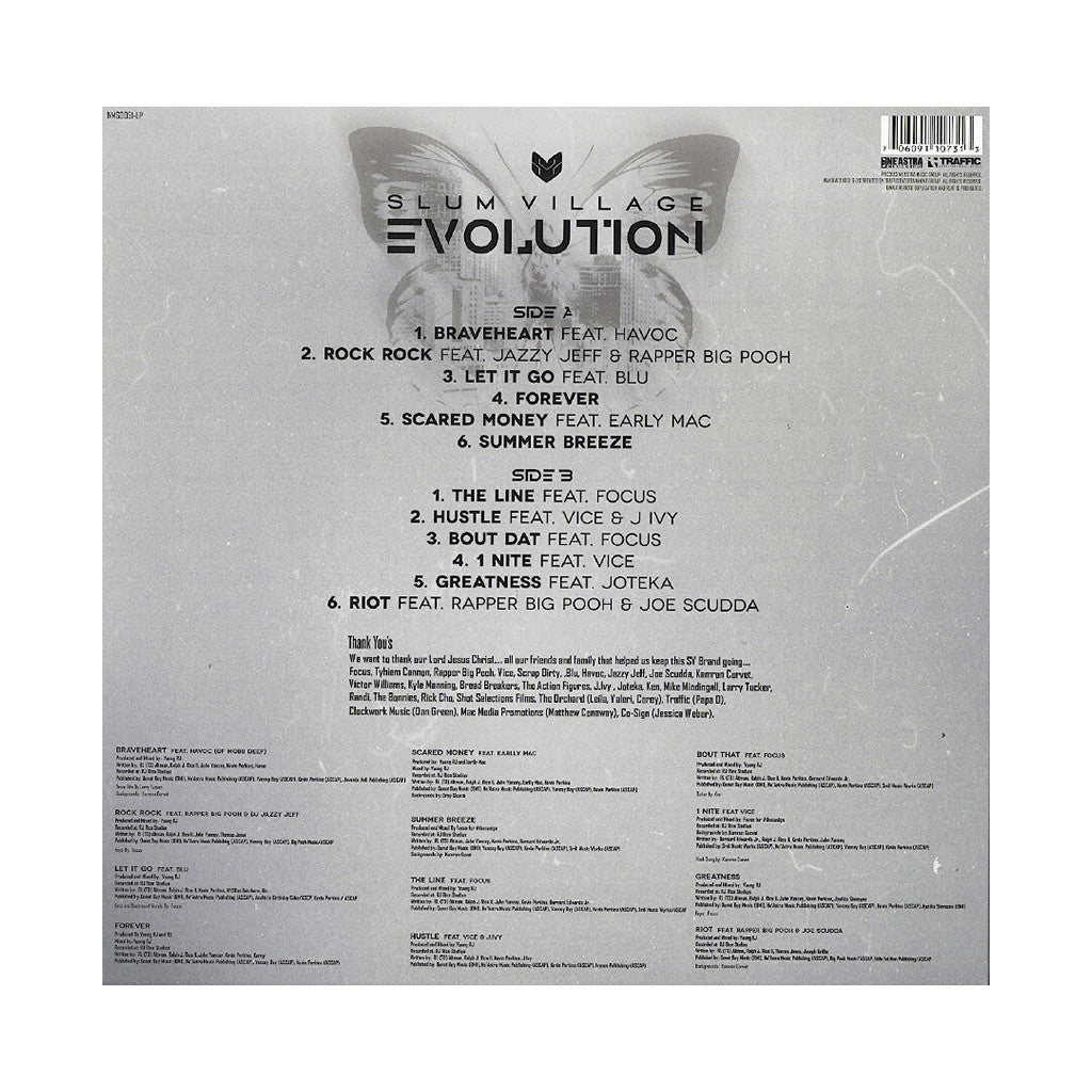 <!--020130730057192-->Slum Village - 'Evolution' [(Black) Vinyl LP]