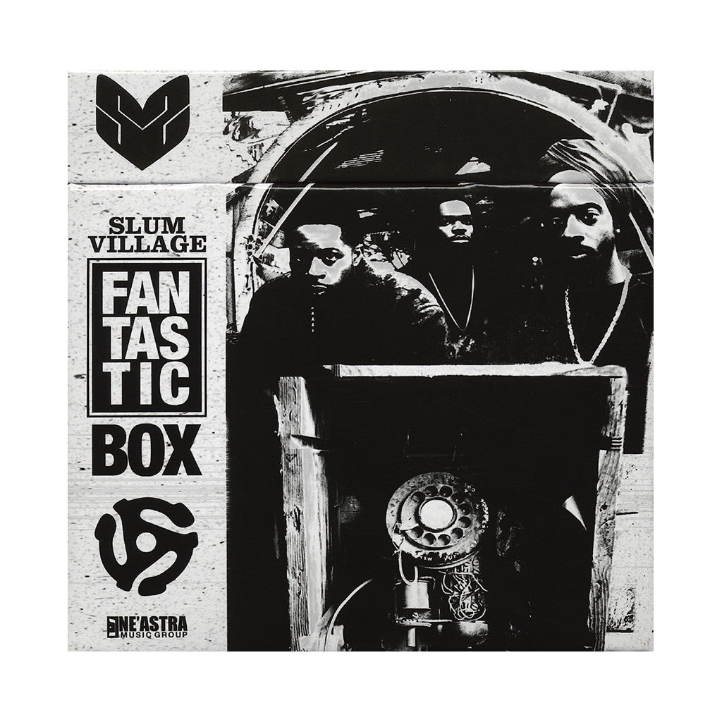"Slum Village - 'The Fantastic Box' [(Colored) 7"" Vinyl Single [5x7""]]"