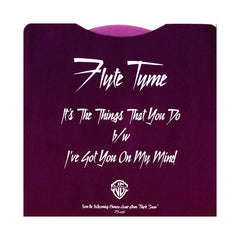 "<!--020131001003421-->Flyte Tyme - 'It's the Things That You Do/ I've Got You on My Mind' [(Purple) 7"""" Vinyl Single]"