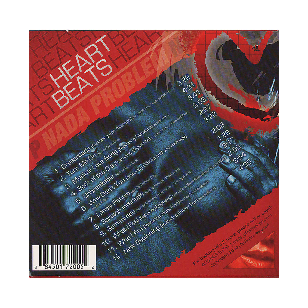 <!--120120904048598-->Nada Problem - 'Heart Beats' [CD]