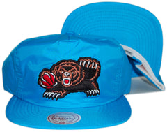 <!--020130226054264-->Mitchell & Ness x NBA - 'Vancouver Grizzlies - Neon Pinch Panel' [(Light Blue) Snap Back Hat]