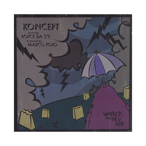 Koncept - 'Watch The Sky Fall' [(Black) Vinyl EP]