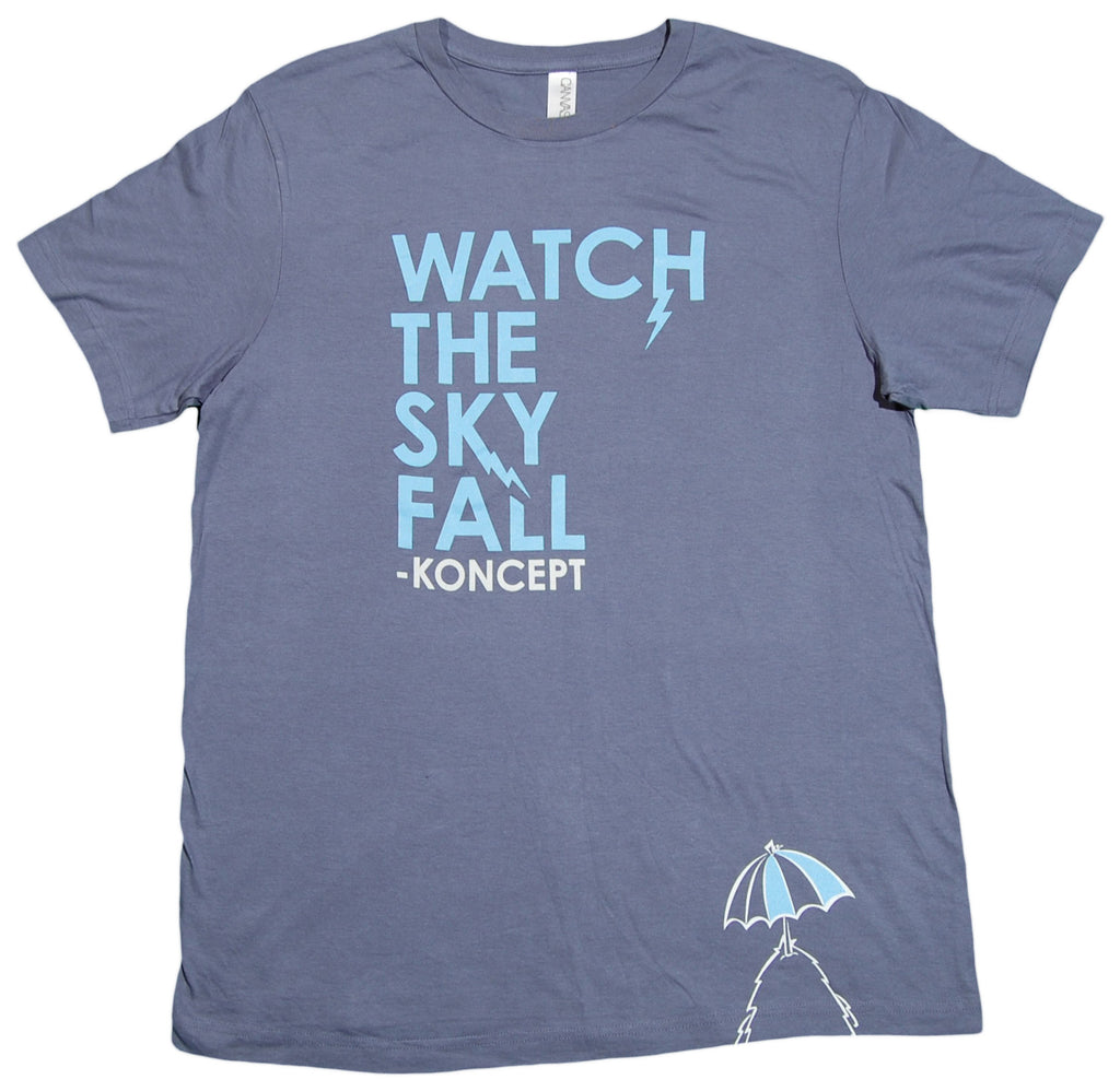 <!--2012073110-->Koncept - 'Watch The Sky Fall' [(Light Blue) T-Shirt]