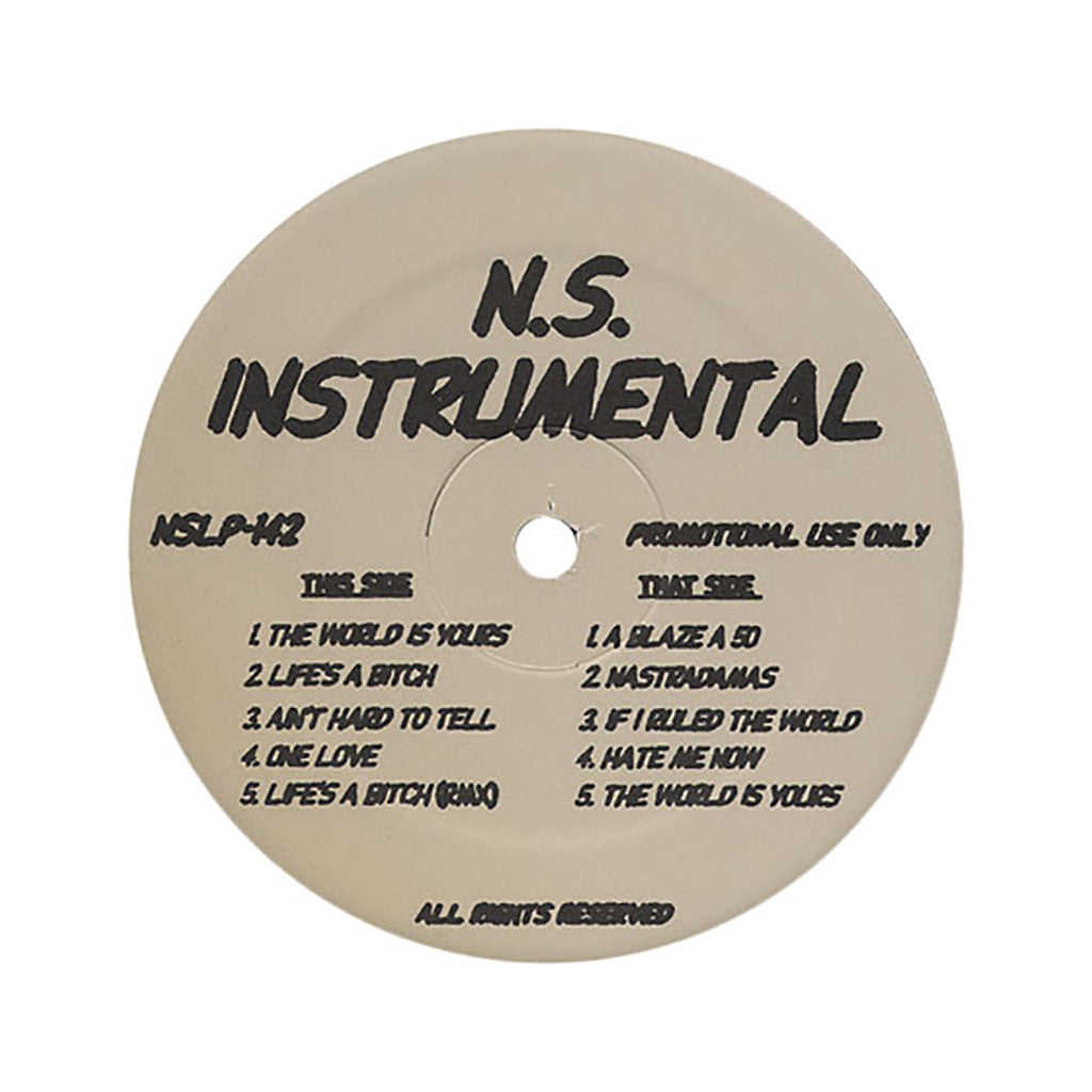 <!--2012041840-->Nas - 'The World Is Yours (INSTRUMENTAL)' [Streaming Audio]