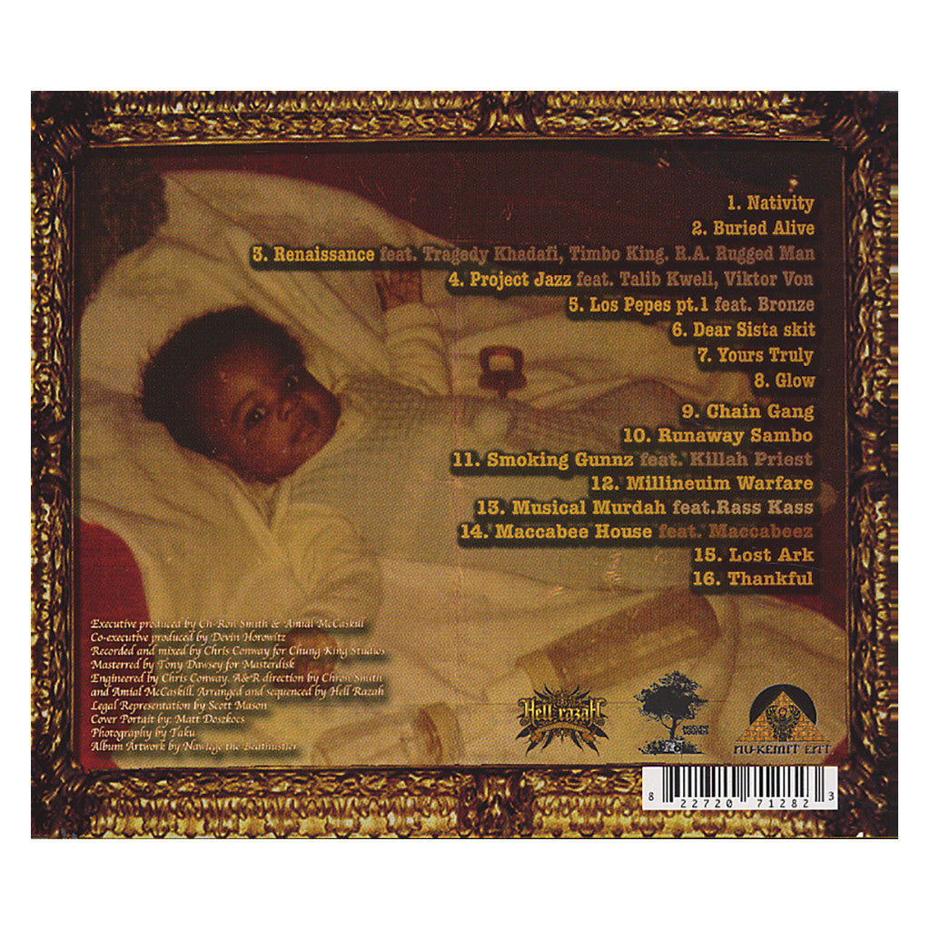 <!--120070220008948-->Hell Razah - 'Renaissance Child' [CD]
