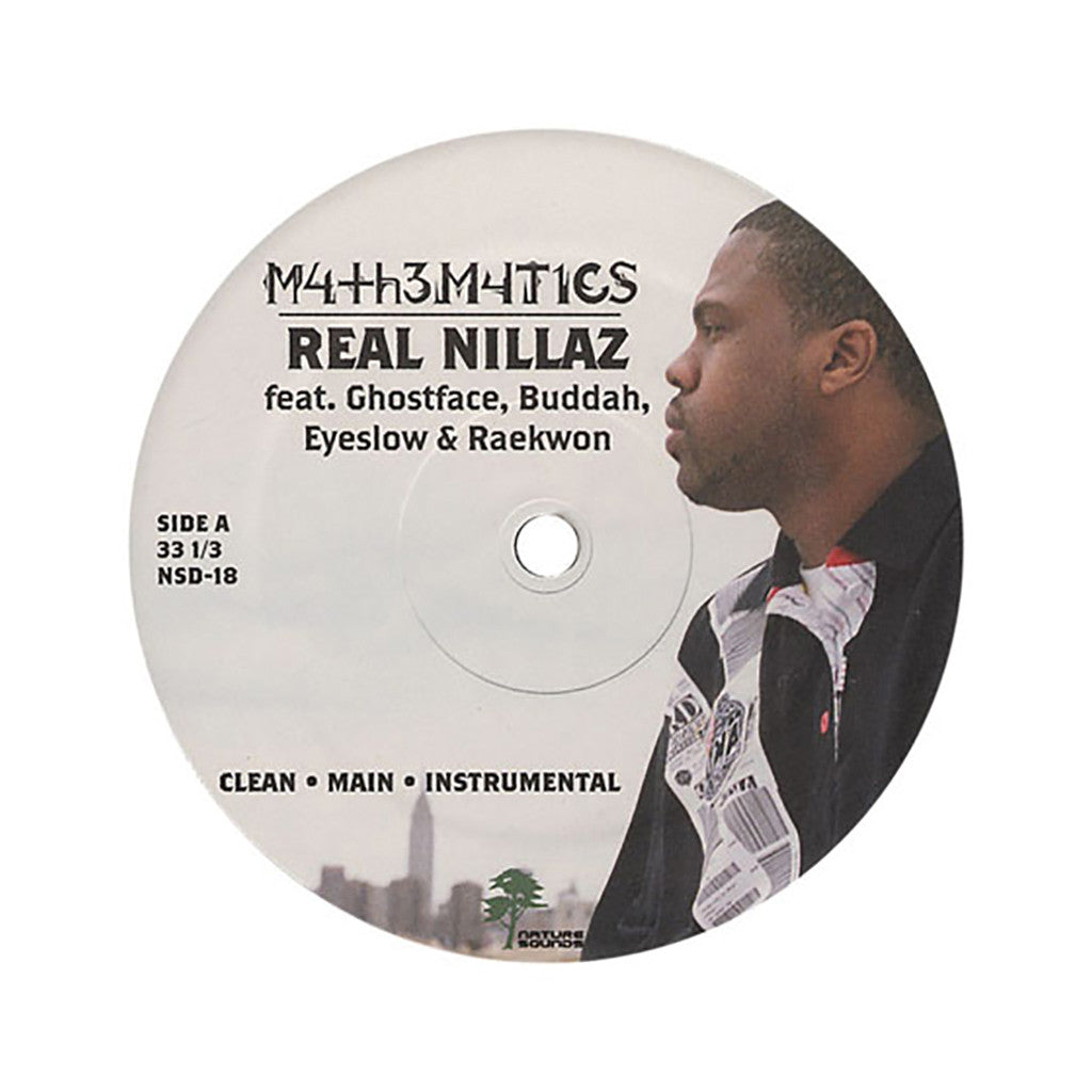 "<!--020051101005529-->Mathematics - 'Real Nillaz/ Coach Talk' [(Black) 12"" Vinyl Single]"