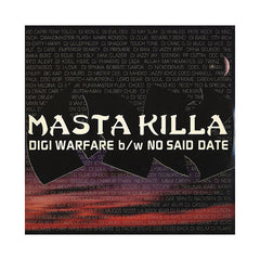 "<!--120030701011904-->Masta Killa - 'Digi Warfare/ No Said Date' [(Black) 12"" Vinyl Single]"