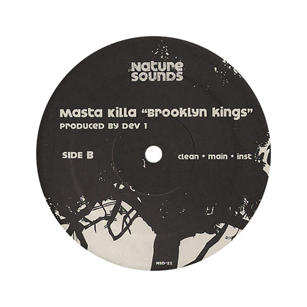 "<!--020060718007683-->Masta Killa - 'It's What It Is/ Brooklyn Kings' [(Black) 12"" Vinyl Single]"