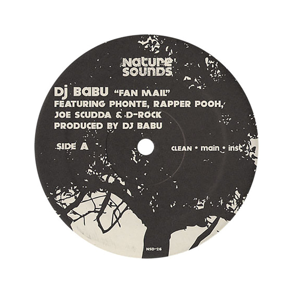"<!--020070403009378-->Babu - 'Fan Mail/ Truth Be Told' [(Black) 12"" Vinyl Single]"