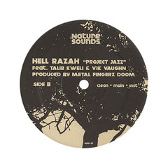 "Hell Razah - 'Buried Alive/ Project Jazz' [(Black) 12"" Vinyl Single]"