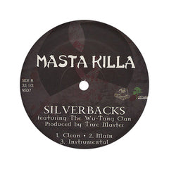 "<!--020040727011903-->Masta Killa - 'Old Man/ Silverbacks' [(Black) 12"" Vinyl Single]"
