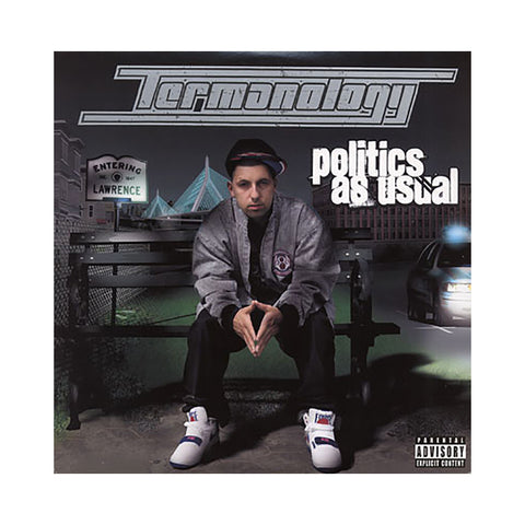 Termanology - 'Politics As Usual' [(Black) Vinyl [2LP]]