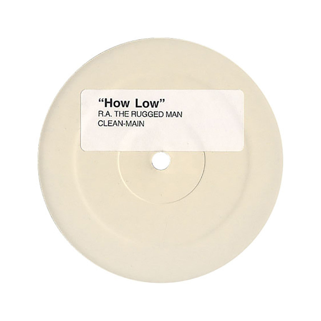 "<!--020041029001593-->R.A. The Rugged Man - 'Lessons/ How Low (WHITE LABEL)' [(Black) 12"" Vinyl Single]"