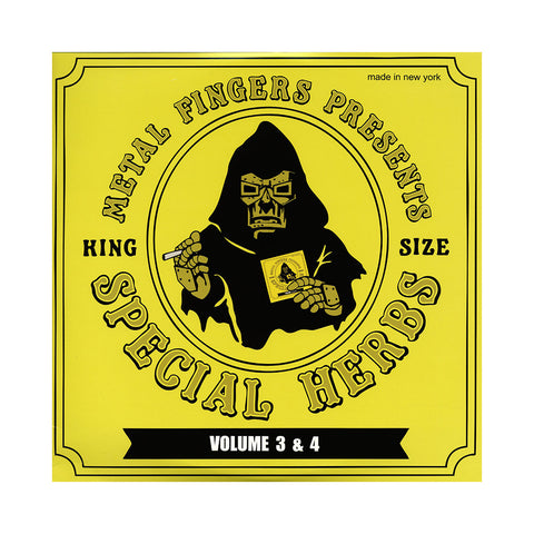 "[""M.F. DOOM - 'Special Herbs Vol. 3 & 4' [(Black) Vinyl [2LP]]""]"