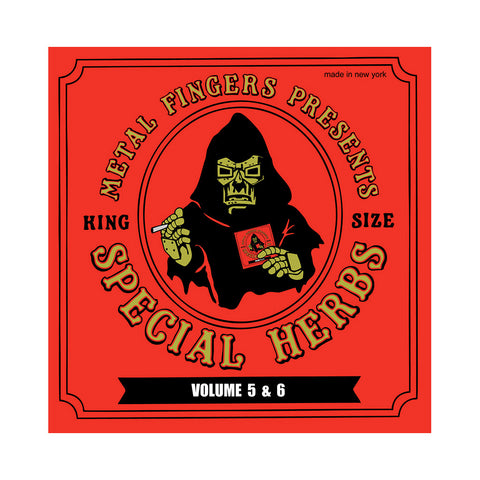 "[""M.F. DOOM - 'Special Herbs Vol. 5 & 6' [(Black) Vinyl [2LP]]""]"