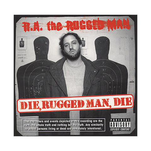R.A. The Rugged Man - 'Die, Rugged Man, Die' [CD]