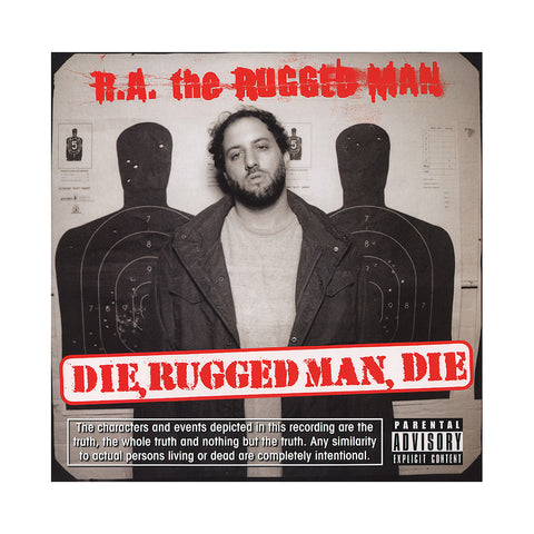 R.A. The Rugged Man - 'Die, Rugged Man, Die' [(Black) Vinyl [2LP]]