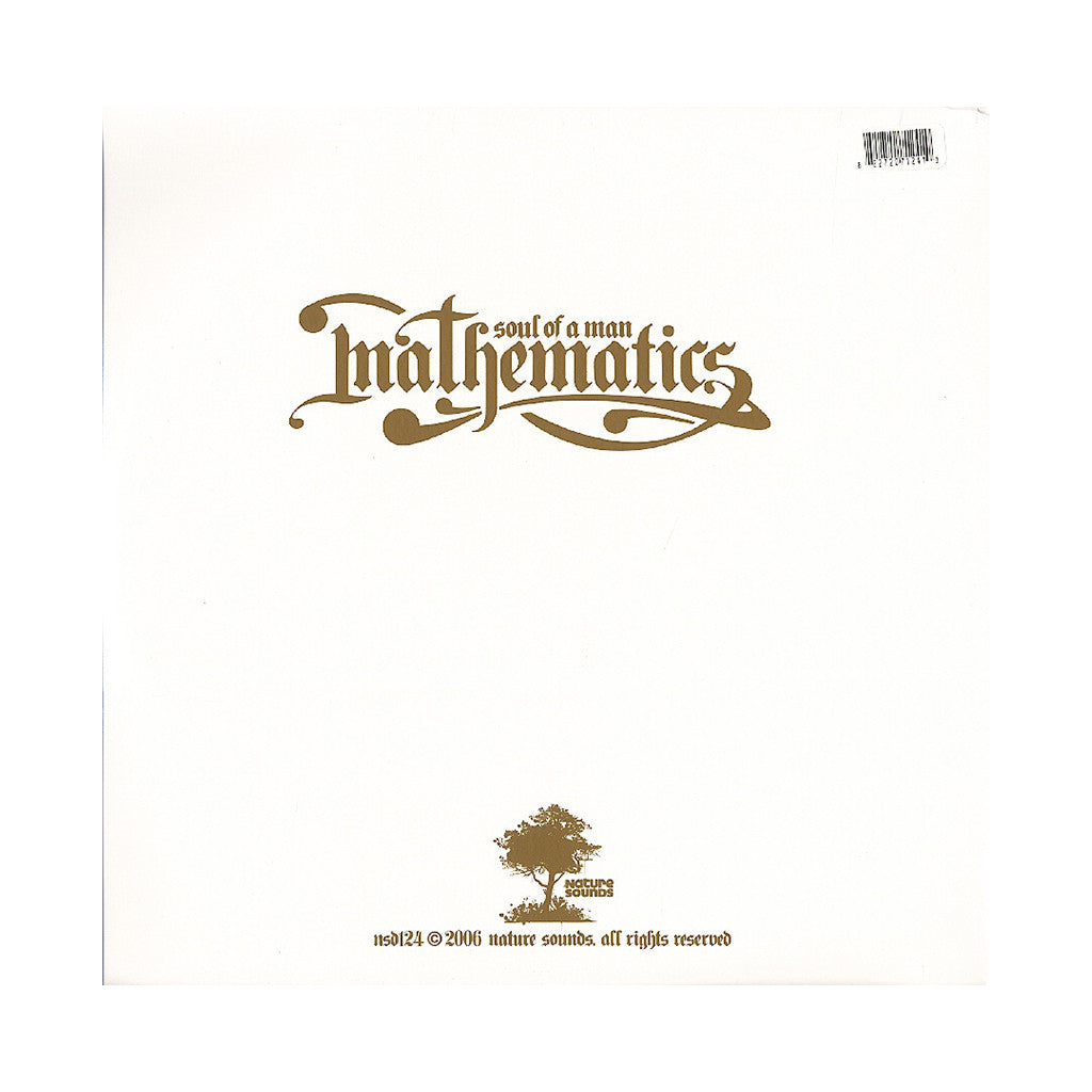 Mathematics - 'Soul Of A Man' [(Black) Vinyl [3LP]]