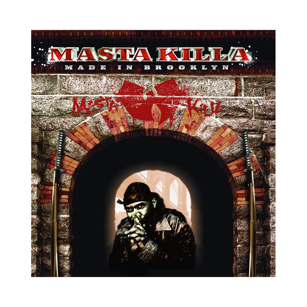 <!--120060815007685-->Masta Killa - 'Made In Brooklyn' [CD]