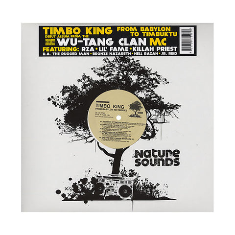 "[""Timbo King - 'From Babylon To Timbuk2' [(Black) Vinyl [2LP]]""]"