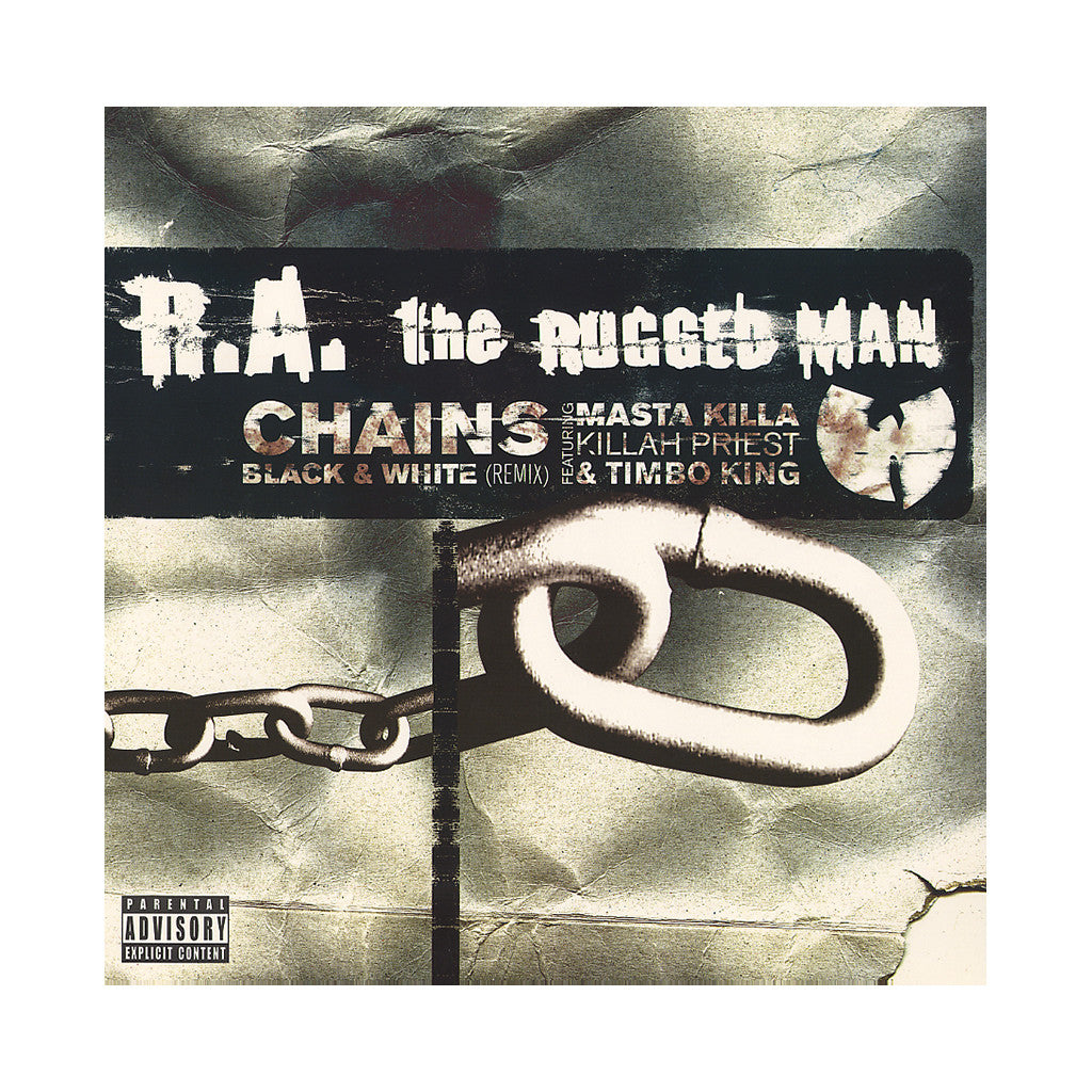 "R.A. The Rugged Man - 'Chains/ Black And White/ Black And White (Remix)' [(Black) 12"" Vinyl Single]"