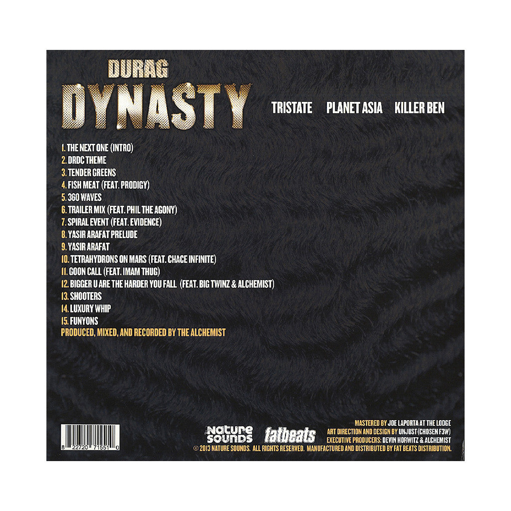 Durag Dynasty - '360 Waves' [(Black) Vinyl [2LP]]