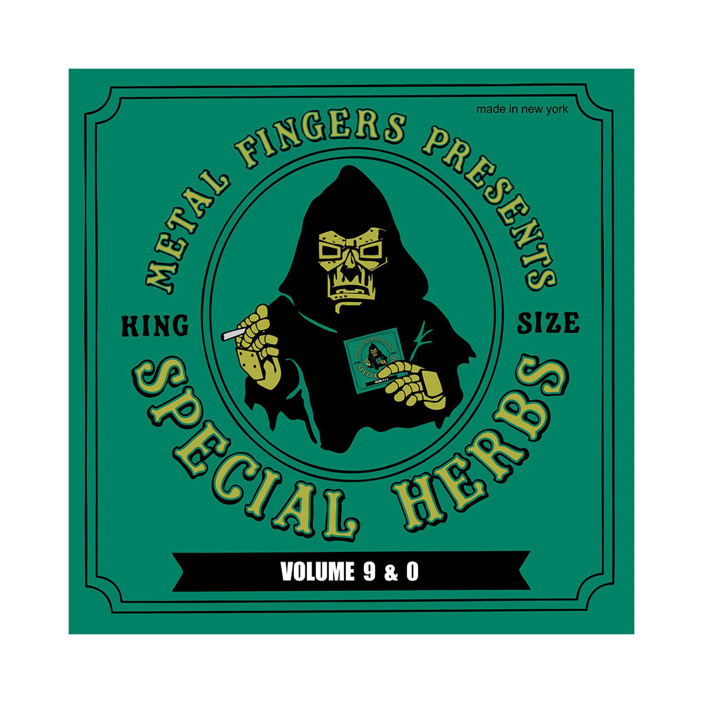 M.F. DOOM - 'Special Herbs Vol. 9 & 0 (Re-Issue)' [CD]