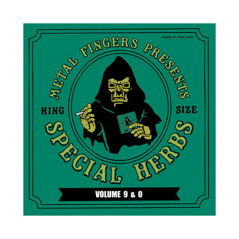 "[""M.F. DOOM - 'Special Herbs Vol. 9 & 0 (Re-Issue)' [CD]""]"