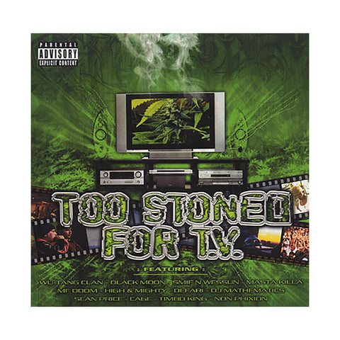Various Artists - 'Too Stoned For TV' [CD]