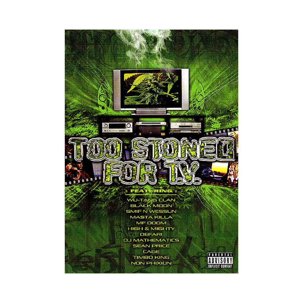 <!--020050823005425-->Various Artists - 'Too Stoned For TV' [DVD]