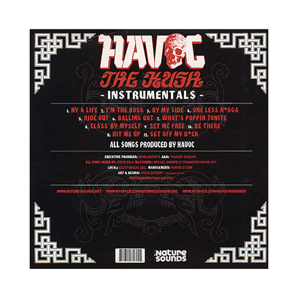 <!--020090113012740-->Havoc - 'The Kush (Instrumentals)' [(Black) Vinyl LP]