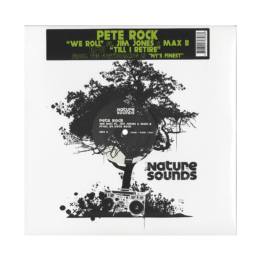 "Pete Rock - 'We Roll/ Till I Retire' [(Black) 12"" Vinyl Single]"